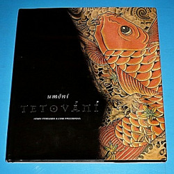 Umění tetování obálka knihy