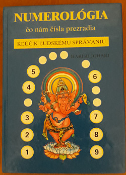 Numerológia obálka knihy
