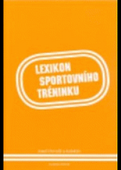 Lexikon sportovního tréninku obálka knihy