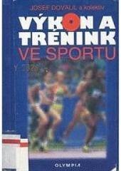 Výkon a trénink ve sportu obálka knihy