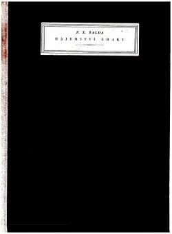 Hájemství zraku obálka knihy