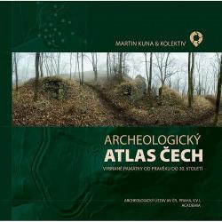 Archeologický atlas Čech obálka knihy