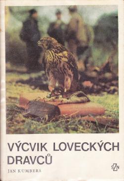 Výcvik loveckých dravců obálka knihy
