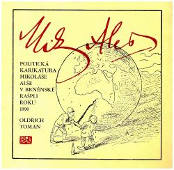 Politická karikatura Mikoláše Alše v brněnské Rašpli obálka knihy