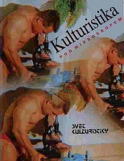 Kulturistika pod mikroskopem obálka knihy