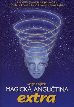 Magická angličtina EXTRA obálka knihy