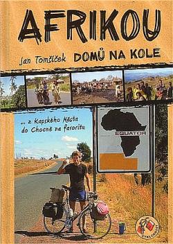 Afrikou domů na kole obálka knihy