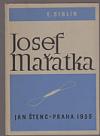 Josef Mařatka obálka knihy