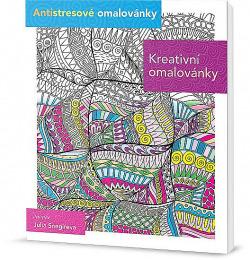 Kreativní omalovánky obálka knihy