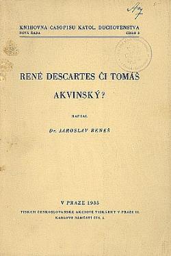 René Descartes či Tomáš Akvinský? Problém poznání u Descarta s hlediska křesťanské filosofie obálka knihy