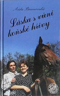 Láska s vůní koňské hřívy obálka knihy