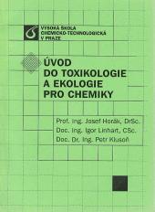 Úvod do toxikologie a ekologie pro chemiky obálka knihy