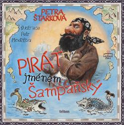 Pirát jménem Šampaňský obálka knihy