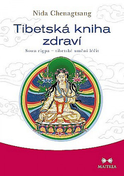 Tibetská kniha zdraví obálka knihy