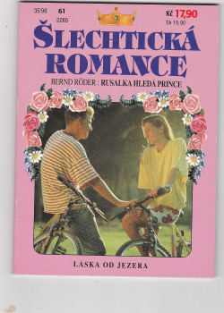 Rusalka hledá prince obálka knihy