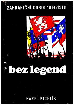 Zahraniční odboj 1914 - 1918 bez legend obálka knihy