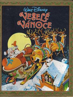 Veselé Vánoce obálka knihy