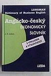Anglicko-český ekonomický slovník s výkladem a výslovností obálka knihy
