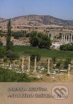Dejiny a kultúra antického Grécka a Ríma obálka knihy