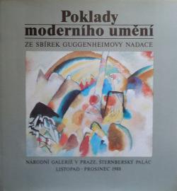 Poklady moderního umění obálka knihy
