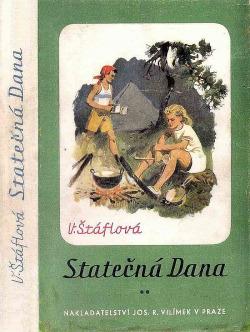 Statečná Dana obálka knihy