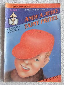 Andy a jeho tajný přítel obálka knihy