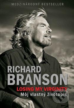 Losing my Virginity - Môj vlastný životopis obálka knihy