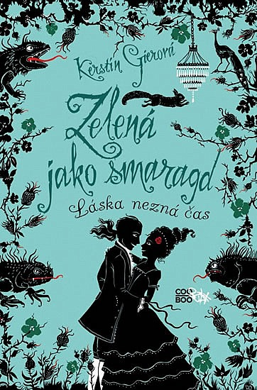 Kniha Zelená jako smaragd (Kerstin Gier)