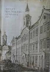 100 let kolínského gymnasia obálka knihy
