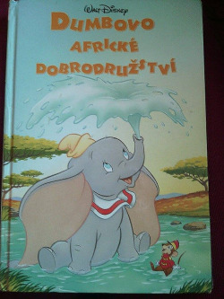 Dumbovo africké dobrodružství obálka knihy