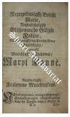 Krwe Newinné Žjžniwý Wlcý Dioklecyán, a Maximián Cýsařowé Ržjmsstj: ...