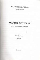 Anatomie člověka 3. systém kožní, smyslový a nervový