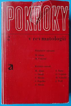 Pokroky v revmatologii obálka knihy