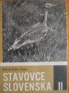 Stavovce Slovenska II Vtáky 1