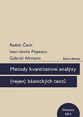 Metody kvantitativní analýzy (nejen) básnických textů obálka knihy