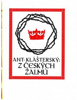 Z českých žalmů obálka knihy