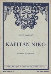 Kapitán Niko obálka knihy