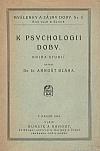 K psychologii doby