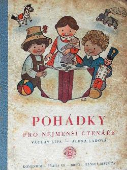 Pohádky pro nejmenší čtenáře obálka knihy