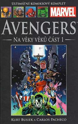 Avengers: Na věky věků část 1 obálka knihy