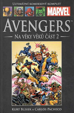 Avengers: Na věky věků část 2 obálka knihy