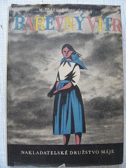 Barevný vítr obálka knihy
