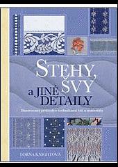 Stehy, švy a jiné detaily obálka knihy