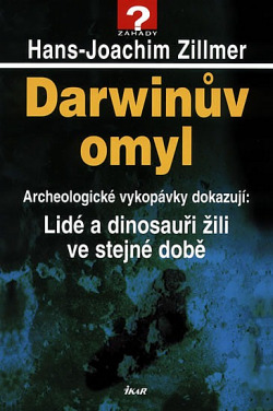 Darwinův omyl obálka knihy