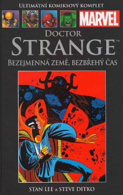 Doctor Strange - Bezejmenná země, bezbřehý čas obálka knihy