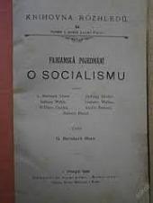 Fabianská pojednání o socialismu obálka knihy