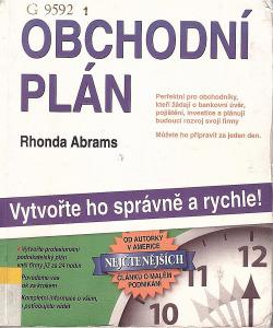 Obchodní plán obálka knihy