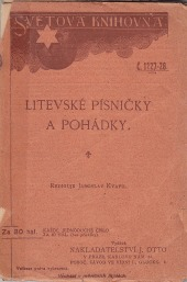 Litevské písničky a pohádky