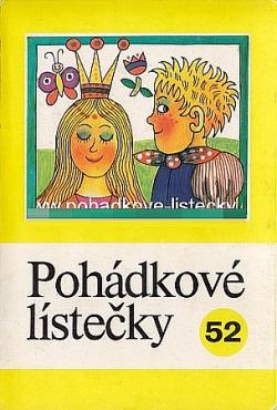Pohádkové lístečky č. 52 obálka knihy