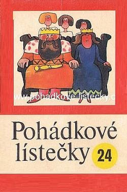 Pohádkové lístečky č. 24 obálka knihy